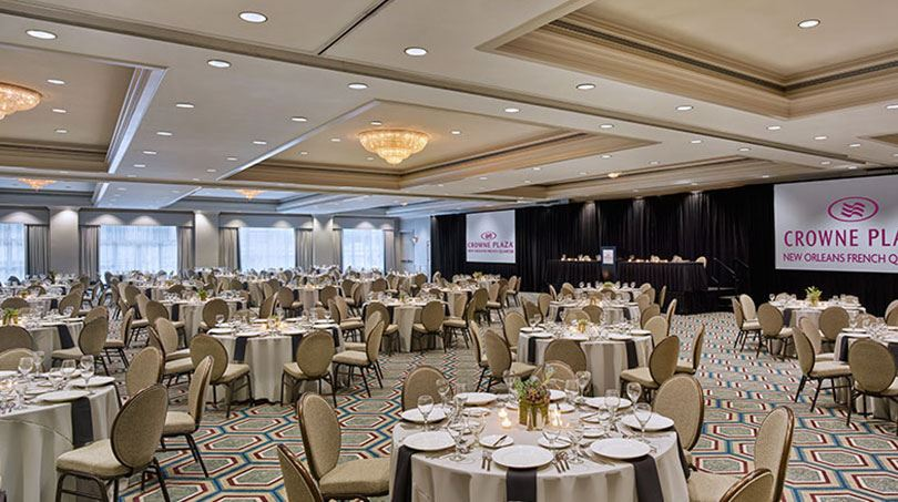 New Orleans Wedding Venue Crowne Plaza French Quarter