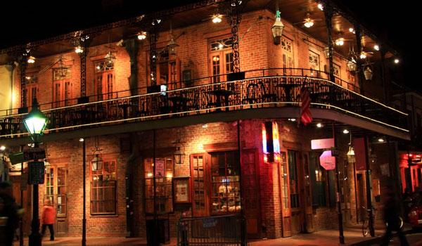Bourbon Street at Louisiana