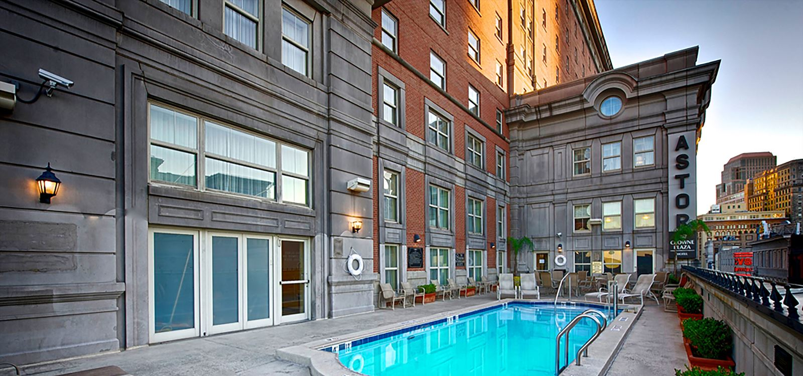 Astor Crowne Plaza French Quarter New Orleans Hotel