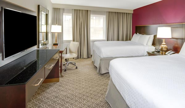 Astor Crowne Plaza - New Orleans French Quarter Standard Two Queen Beds
